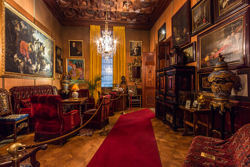Rich In The 19th Century The Smoking Room The Hallwyl
