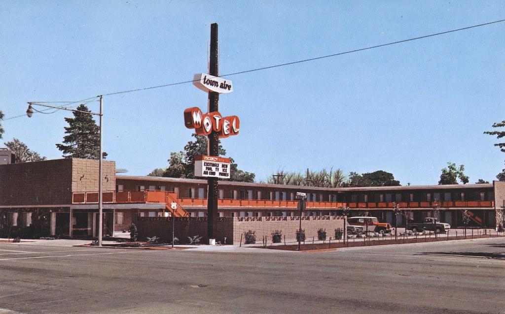 Town Aire Motel - Reno, Nevada