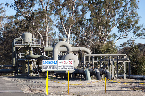 Coal seam gas processing facility Rosalind Park, NSW | by Beyond Coal and Gas