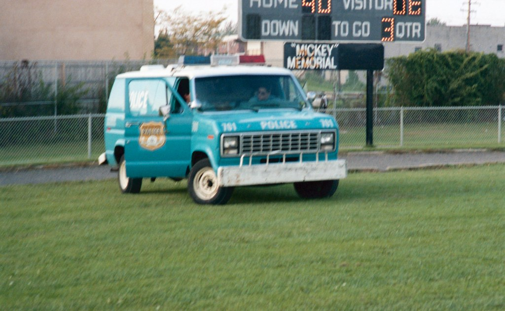 Old New Cars >> Paddy wagon | Crappy photo but I love the old blue police ca… | Flickr