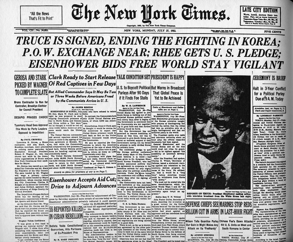 Korean War Ends Korean-war-ends-neutral-600