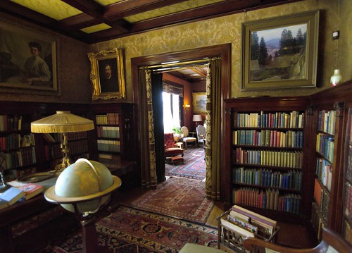 Library 1s The Library At The Glensheen Mansion In
