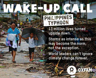 Philippines Typhoon: A Climate Wake-up Call | by Oxfam International