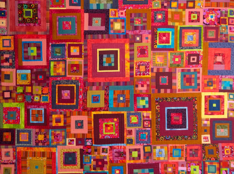 My First Quilt Pattern By Kaffe Fasset In Glorious Patchw Flickr
