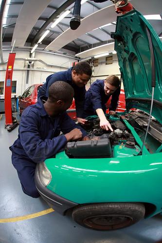 Motor vehicle maintenance at uxbridge college students Motor vehicle repair