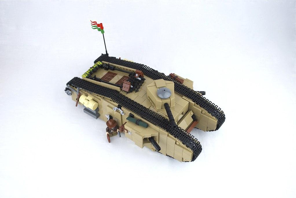 Mark Viii International Tank From The Last Crusade Flickr