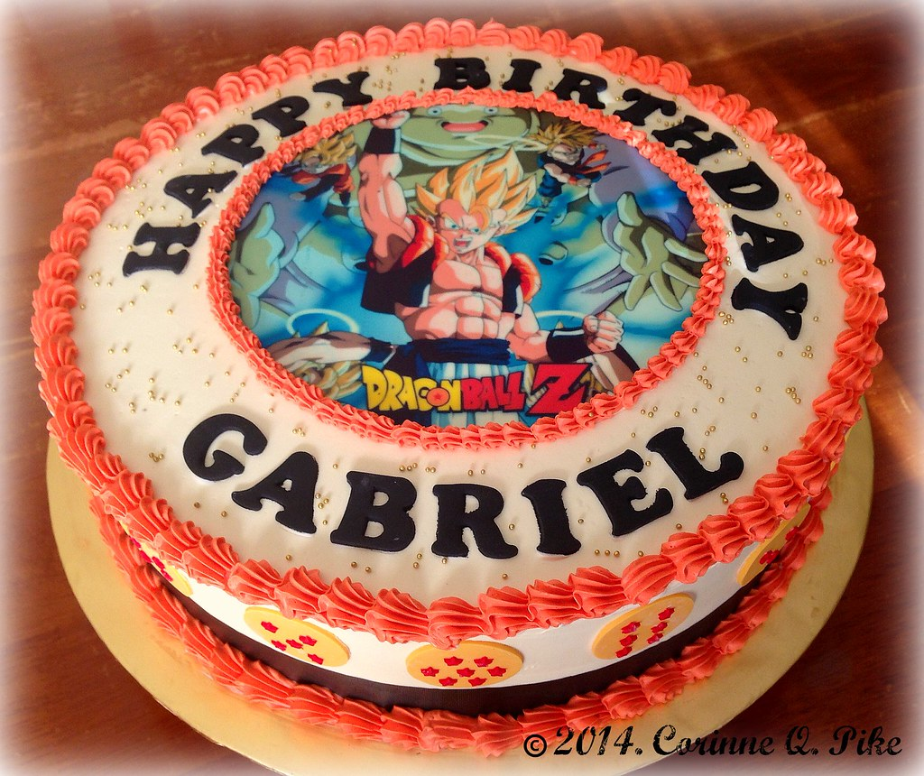 Dragonball Zthemed cake pikecorinne Flickr