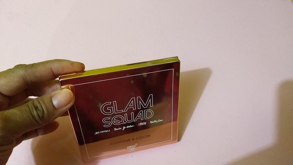 Happy Skin Glam Squad Contour & Color Review