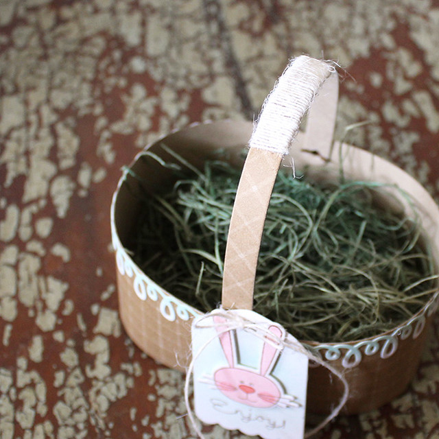 Easter Basket Handle Close Up