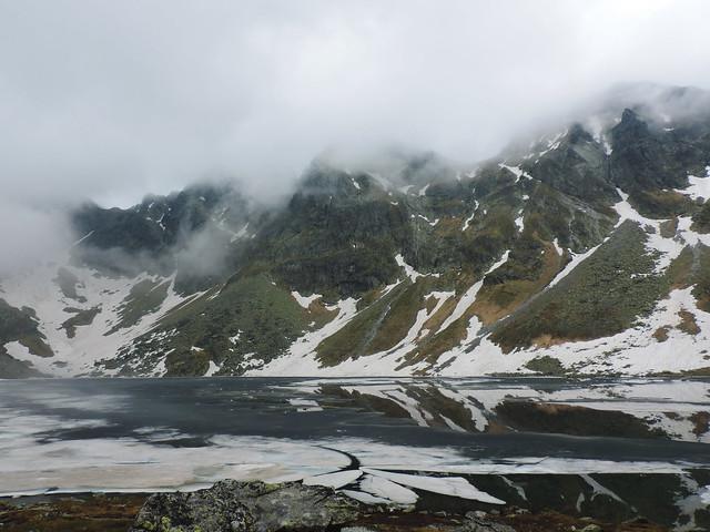 Alpine lakes: Veľké Hincovo pleso, High Tatras, Slovakia