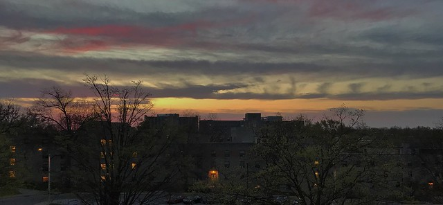 Sunrise Over Wright Quad