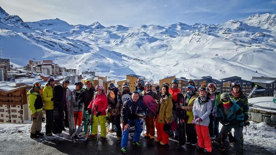 【法國Les 3 Villeges滑雪】歐洲雪場實在太無邊界了