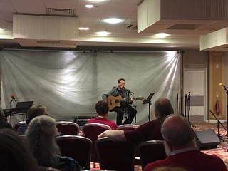 Chris Conway at Quoi De Neuf 29th UK Filk Convention