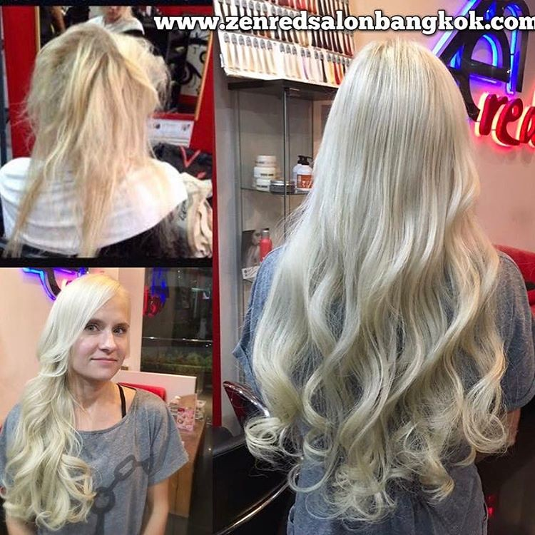 Omg These Hair Extensions From Thailand Bangkok Zenred Sal Flickr