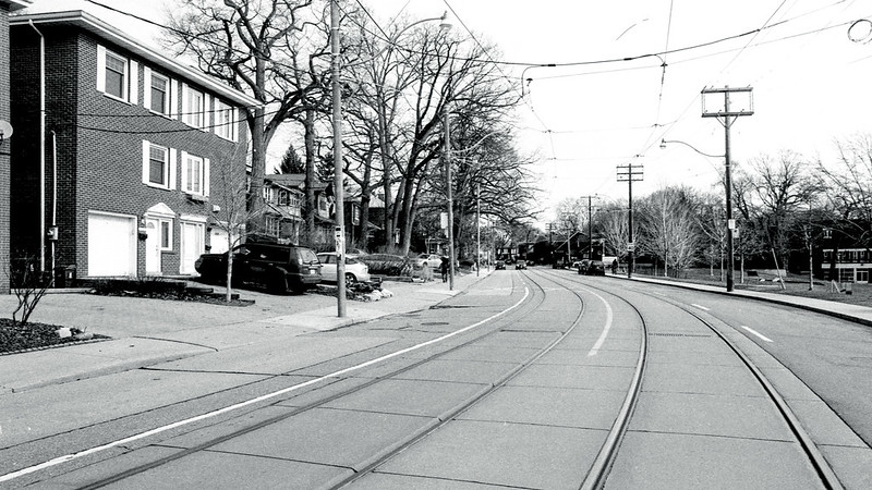 Street Car Tracks on Gerrard