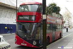 Wrightbus NRM NBFL - LTZ 1487 - LT487 - Fulham Broadway 11 - Go Ahead London - London 2017 - Steven Gray - IMG_8259
