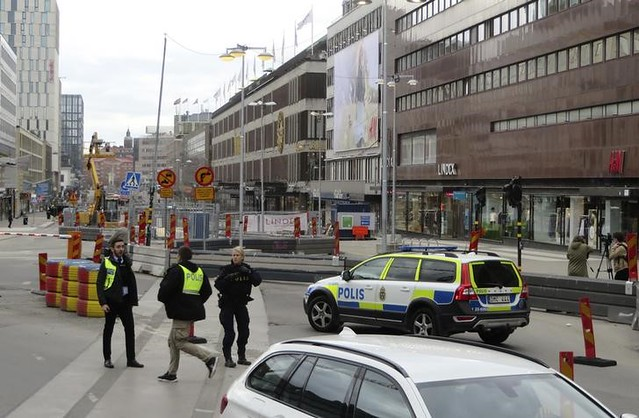 Sweden: several killed, many hurt as truck hits Stockholm crowd