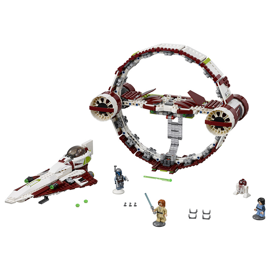 LEGO Star Wars 75191 - Jedi Starfighter with Hyperdrive