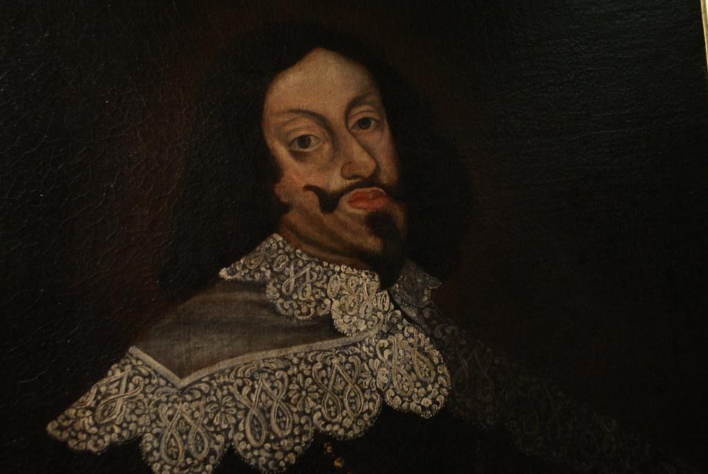Portrait de Ferdinand III des Habsbourg au musée d'histoire de Wroclaw en Pologne.