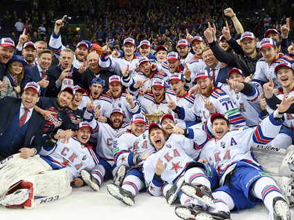 SKA 2015 Gagarin Cup team
