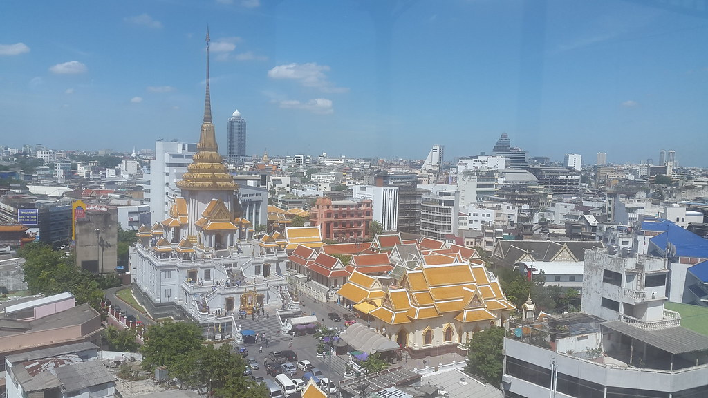 Wat Traimit - The Golden Buddha Temple, Bangkok Thailand