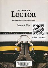 Bernard Pivot, De oficio lector