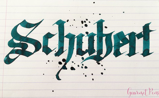 Ink Shot Review Diamine Music Schubert @AppelboomLaren  6