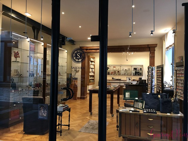 Field Trip Sakura Fountain Pen Gallery in Diest, Belgium @sakurafpgallery 1