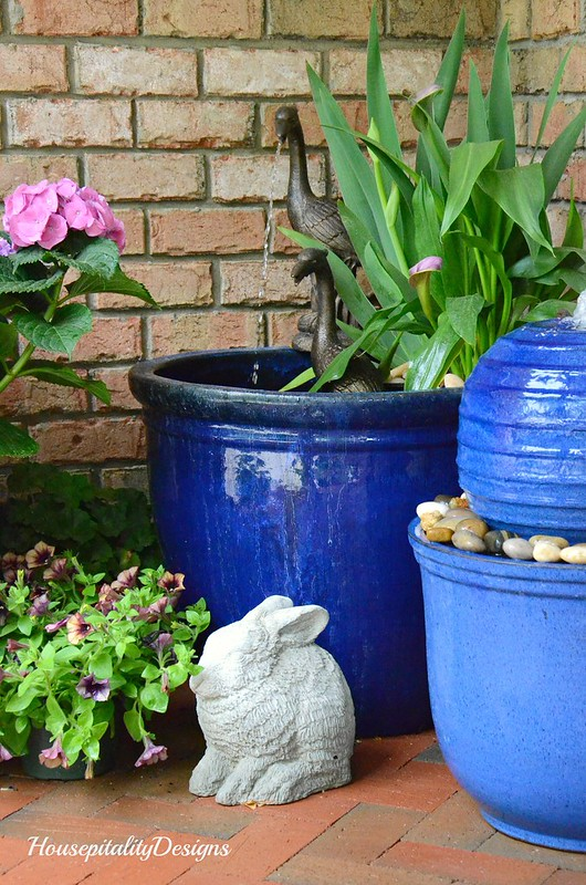 Water Garden-Fountain-Bunny-Housepitality Designs