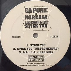 CAPONE-N-NOREAGA:ILLEGAL LIFE(LABEL SIDE-B)