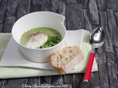 Watercress Soup with Poached Egg-1