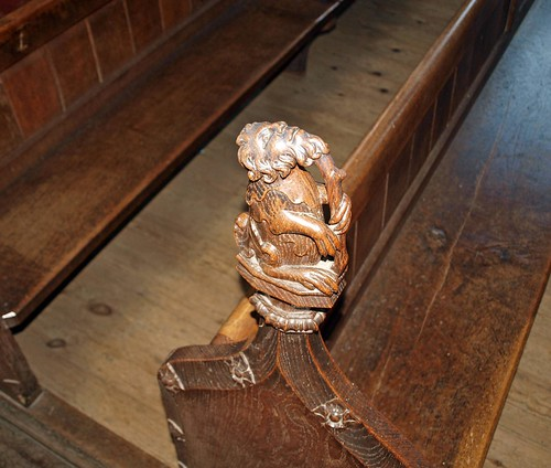 Chancel poppyhead (7)