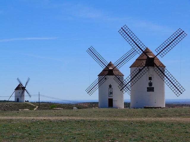 Molinos de viento de Mota del Cuervo (Cuenca) - Ruta de Don Quijote