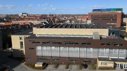 Arhus rooftops