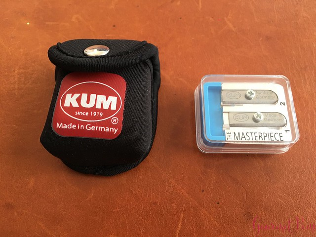 Review KUM Masterpiece Sharpener @JetPens 3_RWM