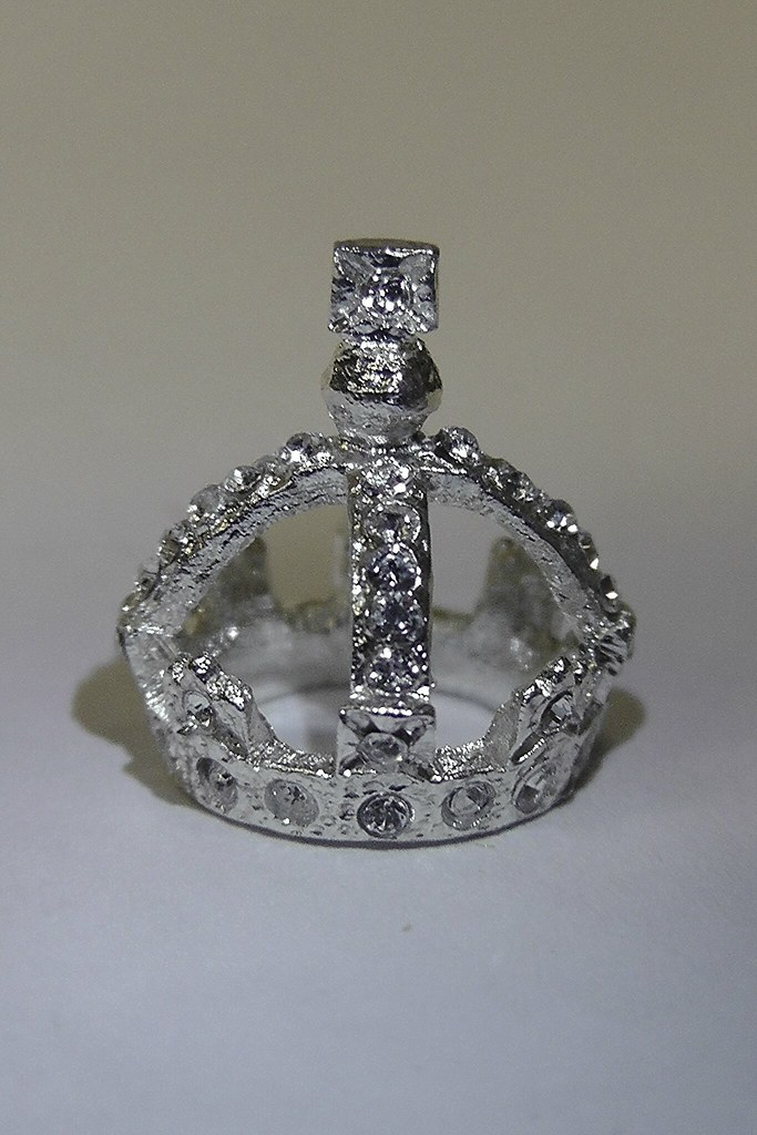 The Small Diamond Crown Of Queen Victoria Miniature The C