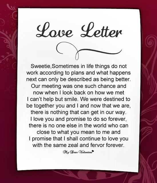 Romantic Love Letters to Her - 7 | Romantic Love Letters to ...