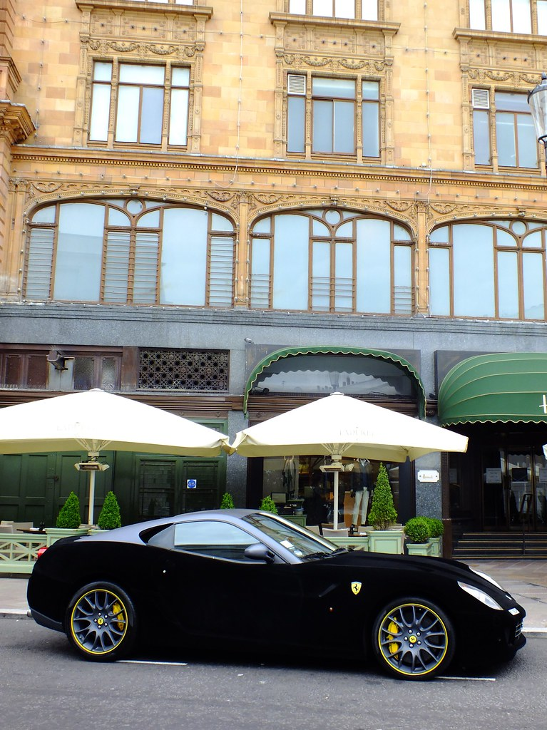 on sale ca7b9 0bf09 Suede Ferrari F599. | An interesting Suede covered Ferrari F ...