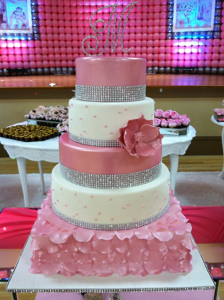 Pink Sweet 16 Cake By Boutique Boston