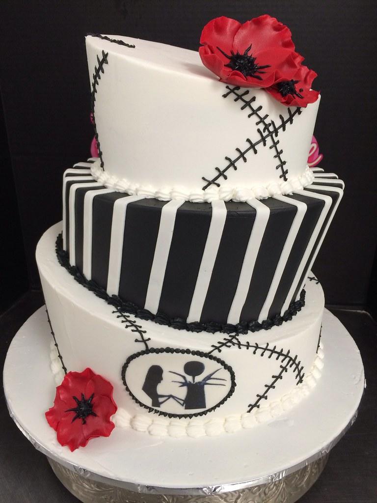 The Nightmare Before Christmas Wedding Cake | Exclusive Cake Shop ...