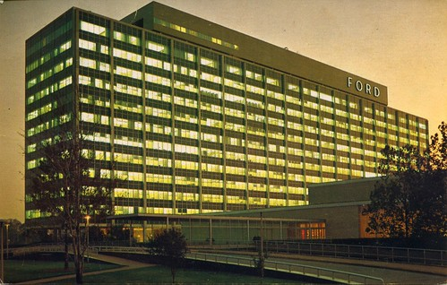 Ford motor company central office building dearborn mich for Ford motor company in dearborn michigan