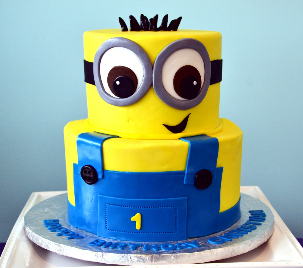 Minion Cake Simply Sweet Creations Flickr
