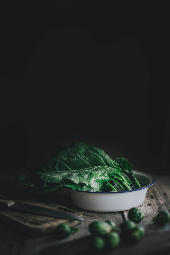 Collards, Beth Kirby for Home & Hill Magazine