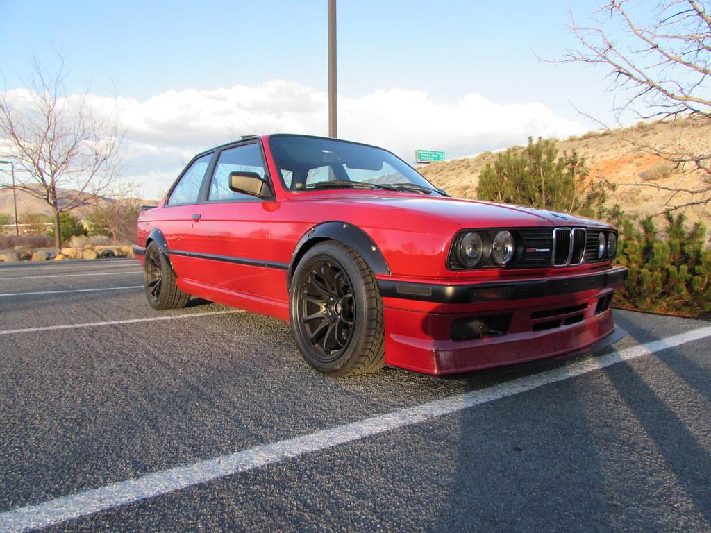 Kamotors Turbo E30 325i Red Alpina Ce28 Str Wheels Flares