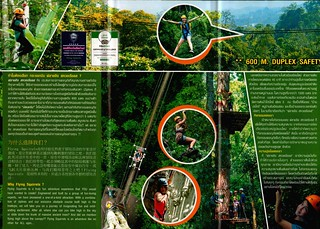 Brochure Flying Squirrels Zipline Chiang Mai Thailand 03