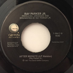 RAY PARKER JR.:I DON'T THINK THAT MAN SHOULD SLEEP ALONE(LABEL SIDE-B)