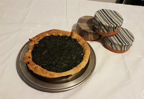 Elinor Fettiplace's Spinach Tart