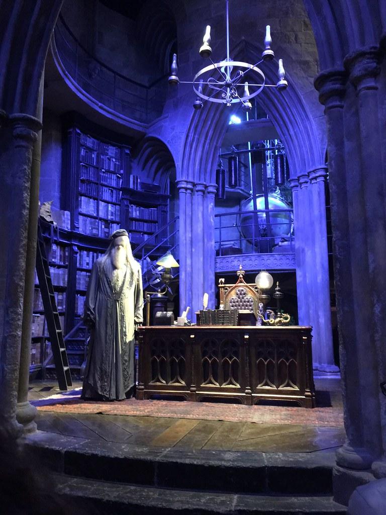 Despacho Dumbledore Harry Potter