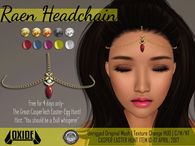 OXIDE Raen Headchain - Casper Easter Hunt
