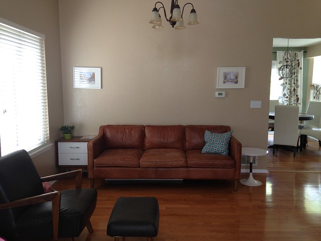 We Needed An Area Rug To Keep The Furniture From Sliding Around And To  Soften The
